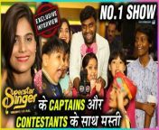 Watch as Captains Jyotica Tangri and Sachin Valmiki with super singers have fun and amazing time exclusively only with Telly Masala. Do watch the complete video to know more.